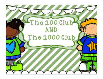 Number and Counting to 100s and 1000s - Lower Elem-Practice Counting and Writing