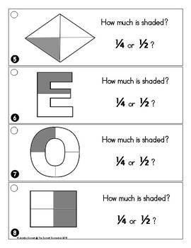 First Grade Math 2D, 3D Shapes and Equal Parts