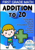 First Grade Math - ADDITION TO 20
