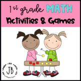 First Grade Math Activities & Games Bundle