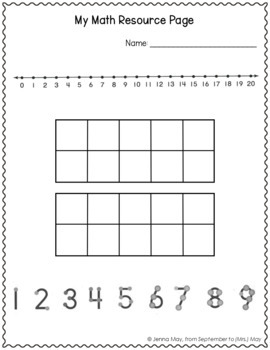 First Grade Math (Adding and Subtracting) SLO Test