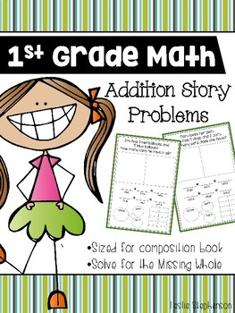 First Grade Math - Addition Story Problems