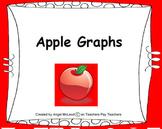 First Grade Math Apple Graphs