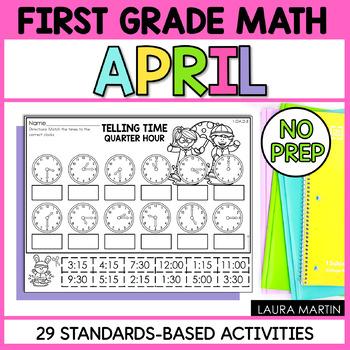 First Grade Math - April
