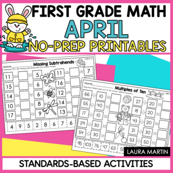 First Grade Math - April