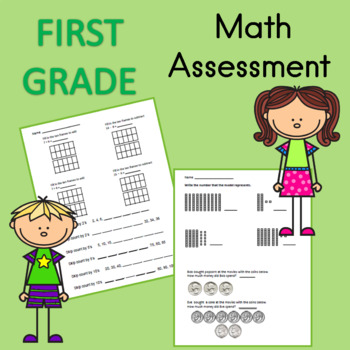First Grade Math Assessment