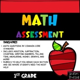 First Grade Math Assessments & Quizzes