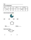 First Grade Math Assessment CCS Aligned