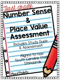 First Grade Math Assessment-Number Sense and Place Value