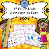 First Grade Math Common Core Test Pack
