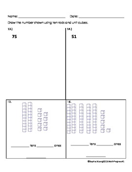 First Grade Math Assessment - Primary Math 1 QUICK