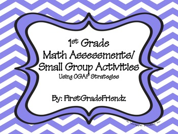 First Grade Math Assessments