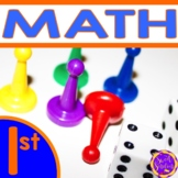 First Grade Math All Year Common Core Bundle