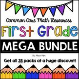 First Grade Math BUNDLE {Common Core Math Resources}