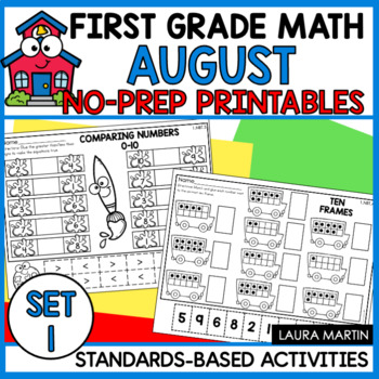 Back to School-First Grade Math
