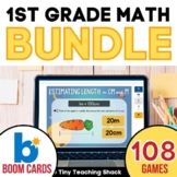 First Grade Math Boom Cards Bundle