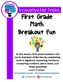 First Grade Math Breakout Box