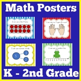 First Grade Math Bulletin Board | Posters