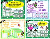 First Grade QR Math Bundle - 80 task cards Teks 1.4, 1.5c, 1.7e, 1.7 a-d