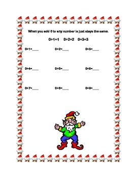 First Grade Math Bundle-Christmas Theme-3 CCSS