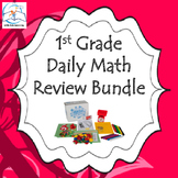 First Grade Daily Math Review BUNDLE {Entire Year}