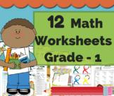First Grade Math Bundle - Math Word Problems