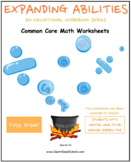 Grade 1 Math Bundle for Students w/ Mental Health or Medical Conditions