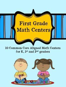 First Grade Math Centers
