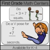 First Grade Math Center: Distance Learning: Operations and