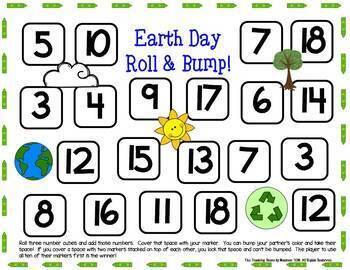 First Grade Math Centers--April