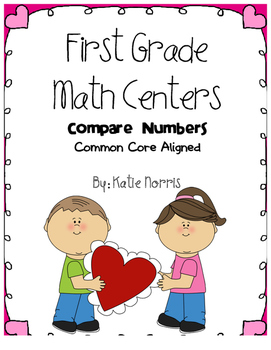 First Grade Math Centers-Compare Numbers