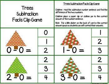 First Grade December Math Centers: Math Facts, Ten Frames, Number Order & More