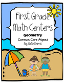First Grade Math Centers-Geometry
