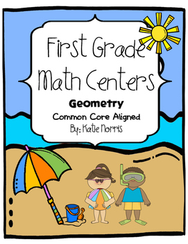 First Grade Math Centers-Geometry