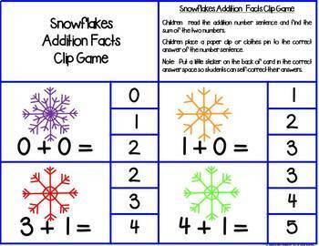 First Grade Math Centers--January