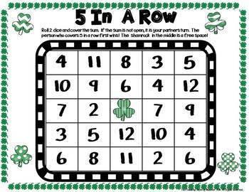 First Grade Math Centers--March