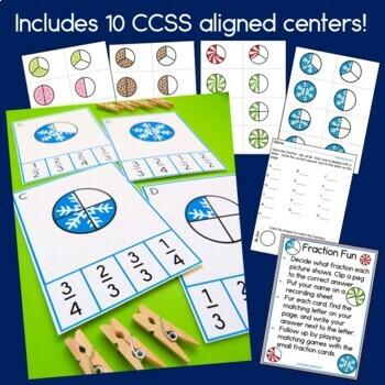 First Grade Math Centers Month 5