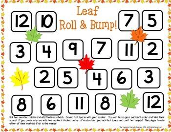 First Grade November Math Centers: Math Facts, Ten Frames, Number Order & More