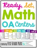 First Grade Math Centers - Operations & Algebraic Thinking (OA) Centers