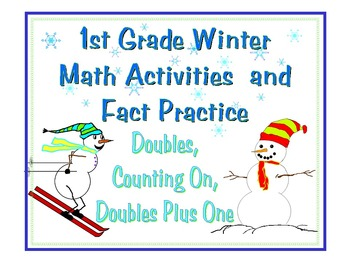 Winter Math Activities for 1st Grade