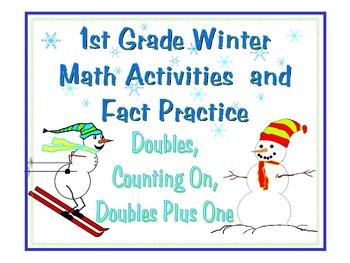 Winter Math Activities for 1st Grade