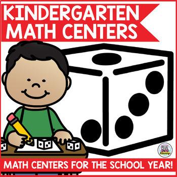 Kindergarten Math Centers for the Year Bundle