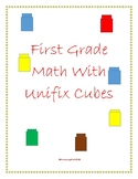 First Grade Math Centers with Unifix Cubes