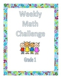 First Grade Math Challenges