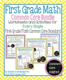 First Grade Math Common Core Bundle