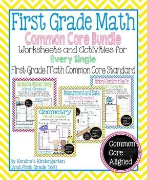 First Grade Math Common Core Bundle