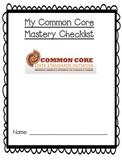 First Grade Math Common Core Checklist!