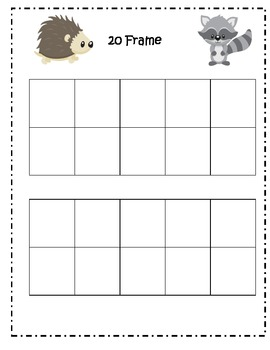 First Grade Math Common Core Collect 20 Game (1.OA5)