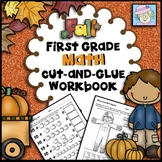 Math Centers 1st Grade NO PREP for Fall | 1st Grade Math Worksheets