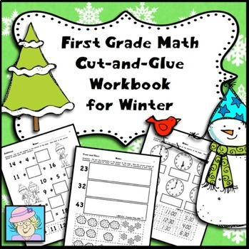 First Grade Math Worksheets Winter Math Worksheets First Grade